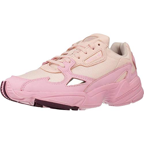 adidas Falcon W, Zapatillas Mujer, Rosa (Icey Pink f17/true Pink/Chalk Purple 10013622), 38