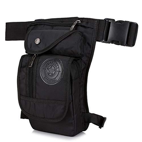 Huntforgold Beintasche Hüfttasche Nylon Drop Bag Taktische Militärische Motorrad Oberschenkel Tasche Outdoor