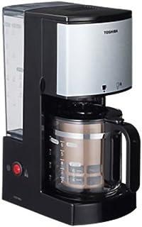 TOSHIBA コーヒーメーカー ブラック HCD-6MJ(K)