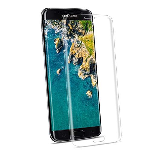 NONZERS Pellicola Protettiva per Samsung Galaxy S7 Edge Vetro Temperato, [1 Pezzi] 9H Durezza Anti Graffio, Senza Bolle Anti-Impronte, Protezione Schermo Screen Protector Pellicola per Samsung S7 Edge