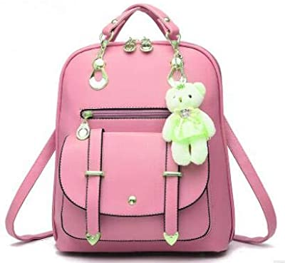 2017 Fashion Women Backpack New Spring and Summer Students Backpack Women Korean Style Backpack LL24 Pink