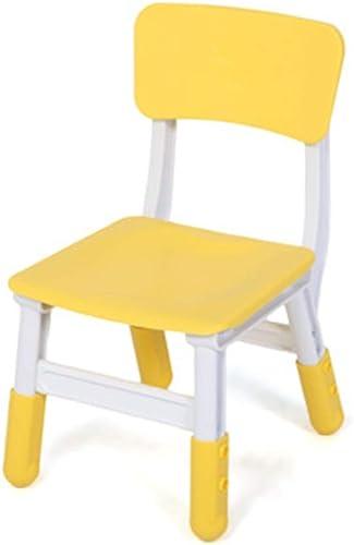 a la venta Wuxingqing Wuxingqing Wuxingqing Kids Study Functional School Desk Silla para Oficina de los Niños Postura Correcta Silla ergonómica Silla de Escritorio Silla de computadora Ajustable para Niños (Color   amarillo)  envío gratis