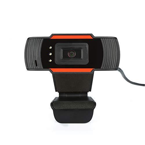 Moonvvin Webcam Microfono ad Assorbimento Acustico Integrato con 12.0M Pixel 640 * 480 Risoluzione dinamica Web Camera