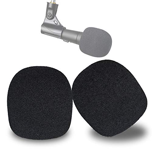 SM58 Cubiertas de Esponja - Funda de Esponja de Micrófono Globular de Shure SM58 SM58-LC para Reducir los Ruidos de Viento (2 Piezas) por YOUSHARES