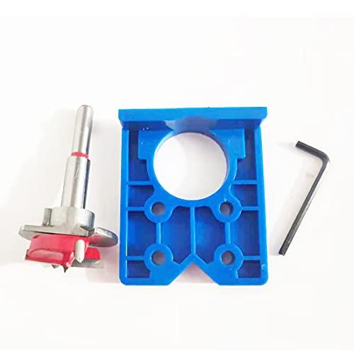 Blupure Punte Forstner per Legno Drill Bits set, 35mm(1-3/8-Inch), Utensili Elettrici Trapano, Ideali per Realizzare Fori Nel Legno Ciechi o Passanti (Profondità del foro: 10 mm - 40 mm)