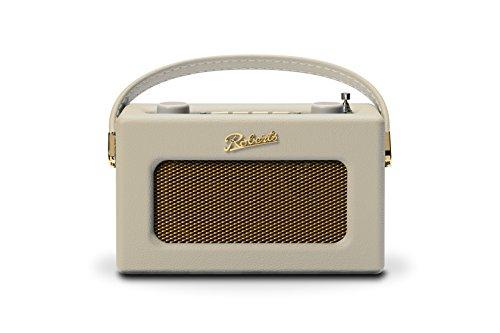 Roberts Revival Uno Compact DAB/DAB+/FM Radio Digitale con Sveglia, Crema Pastello