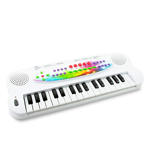 Boley Electronic Toy Keyboard - 1 Pack Mini Toy Piano for Kids - Kid and Toddler Piano Toy - Musical Instruments for Boy and Girl Children Ages 3 and Up