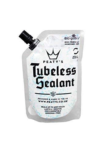 Peaty's Tubeless Sealant - Bike Tyre Liquid Sealant (120ml Trail Pouch)