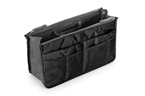 CLM Handtaschen-Organizer, Organizer, Tasche in Tasche Medium schwarz