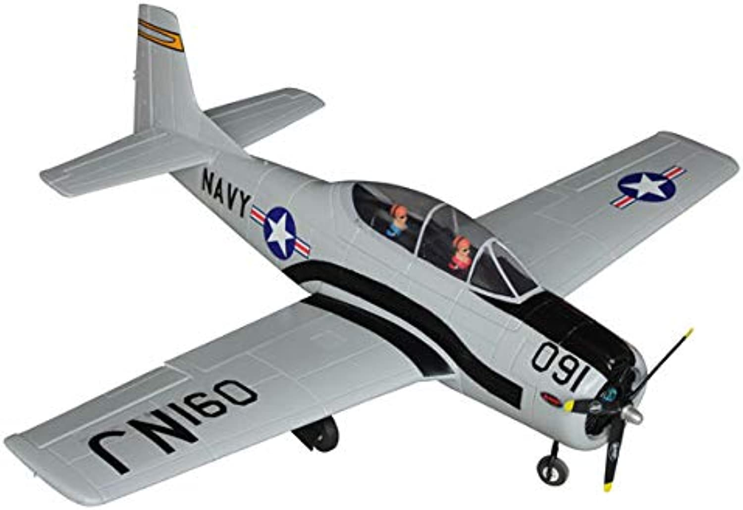 Dynam T28 Trojan ARTF 1270mm with Retracts no Tx Rx Bat - Superb Scale Flyer