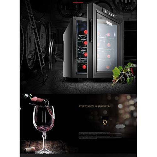 Elektrische wijnkoeler, wijnkoeler, wijnkoeler, wijnkoeler, met constante temperatuur en luchtvochtigheid, koelkast voor sigaren, onafhankelijk van kleine koelkast