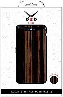 لاصقة حماية من اوزو بشكل الخشب الطبيعي لموبايل سامسونج جالاكسي J7 ماكس