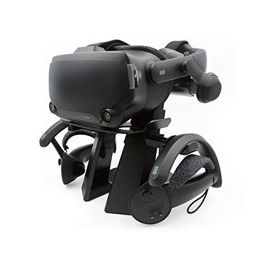 AMVR VR Headset Display Ständer und Controller Halter für Dampfventil Index Virtual Reality Mount Station
