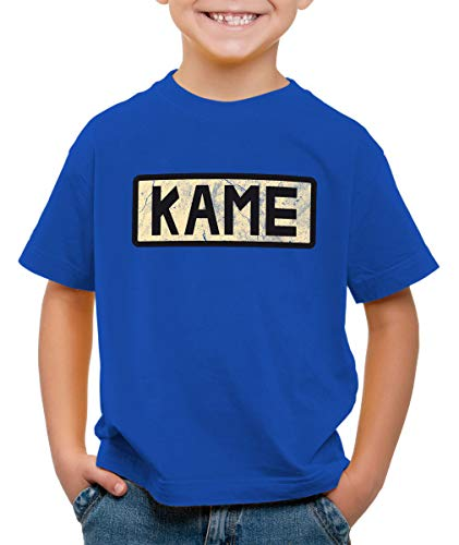 style3 Kame Goku T-Shirt pour Enfants, Couleur:Bleu, Taille:152