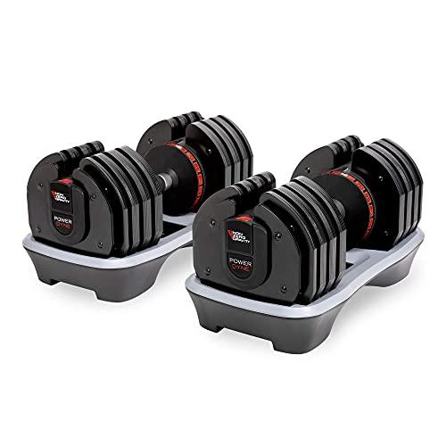 Nonzero Gravity PowerDyne 80lbs Adjustable Dumbbell Weight (Set of 2)