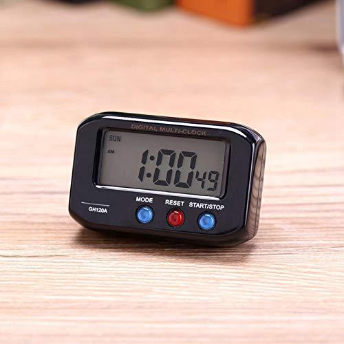 Omabeta Regalo del Despertador del Reloj Digital LCD para la Mesa(Black)