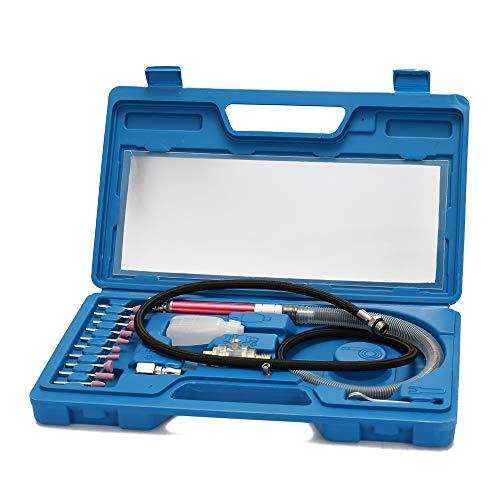 Weytoll Amoladora neumática kit mini lápiz pulido grabado herramienta profesional herramientas de corte rectificado neumático