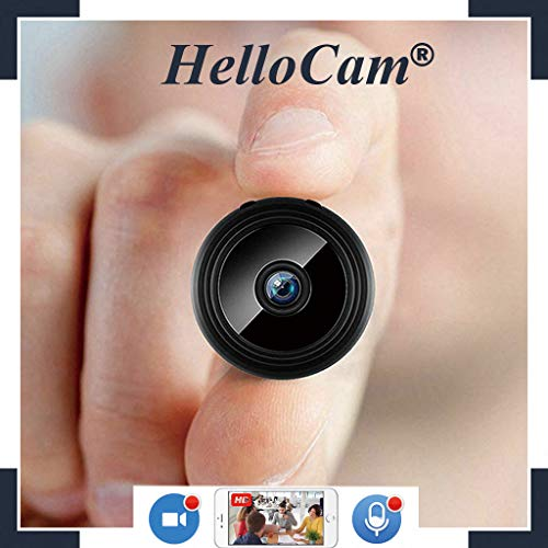 microcamera spia nascosta wifi mini telecamera nascosta videocamere spy camHD ultra miniaturizzata-professionale con obiettivo Videocamera di sorveglianza Interno IP telecamera