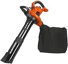 BLACK+DECKER Leaf Blower & Leaf Vacuum, 3-in-1, 12-Amp, 250-MPH, 400-CFM (BV6000)