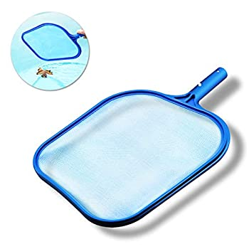 Emarth Swimming Pool Skimmer fine mesh net Pools Leaf rake Blue Professional Skim Pool Cleaning Supplies and Accessories Cleaner for Spa Pond Pool Above Ground Pool