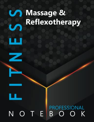 """Compare Textbook Prices for Fitness, Massage & Reflexotherapy Ruled Notebook, Professional Notebook, Writing Journal, Daily Notes, Large 8.5"""" x 11"""" size, 108 pages, Glossy cover  ISBN 9798750191352 by Pro Health  Cre8tive Press"""