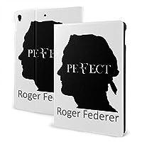 ロジャー・フェデラー テニス 王者 Roger Federer iPad 7 ケース Ipad 10.2 インチ IPad 第7世代ケース Ipad Air3 ケース IPad Air3 10.5インチ 対応 IPad Pro 10.5ケース IPad Pro10.5インチ全面保護型 傷つけ防止 磁気吸着 手帳型 ケース 軽量 薄型 ブックカバーデザイン 角度調節可能な鑑賞スタンド オートスリープ機能/ウェイク
