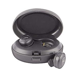 Altec Lansing MZX658 True Evo Waterproof Bluetooth Sport Earphones with Qi Wireless Charging Case