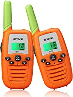 Retevis RT37 Walkie Talkies for Kids,22 CH Colorful Toy Walkie Talkies for Boys Girls Aged 6-12,LED Flashlight,Long...