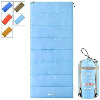 Semoo Sacos de Dormir rectangulares,3 Estaciones(Primavera y Verano), Impermeable, para Camping, Senderismo