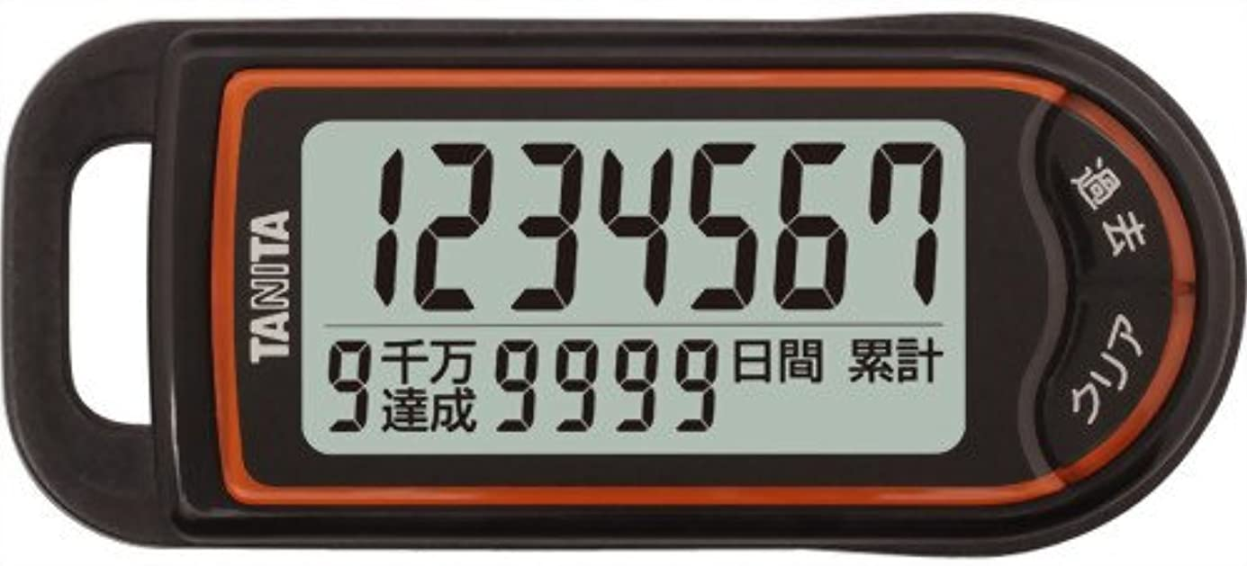 うそつき恐れ集団的タニタ(TANITA) 3Dセンサー搭載歩数計 「億歩計」 ブラック FB-732-BK