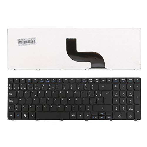 WJY Español Teclado de Repuesto portátil para Acer Aspire 5810T 5536G 5738Z...