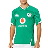Canterbury of New Zealand Men's Ireland 19/20 Vapodri+ Home Pro Rugby Jersey, Bosphorous, S