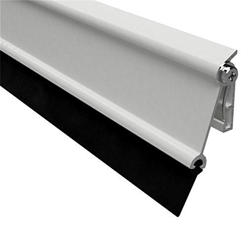 02SR0720914BL noir Chrome Stormguard Bas de porte avec brosse 914/mm