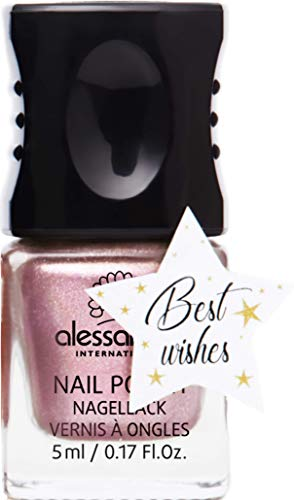 Alessandro Nagellak Be My Treasure - Goud glitter, per stuk verpakt (1 x 5 milliliters)