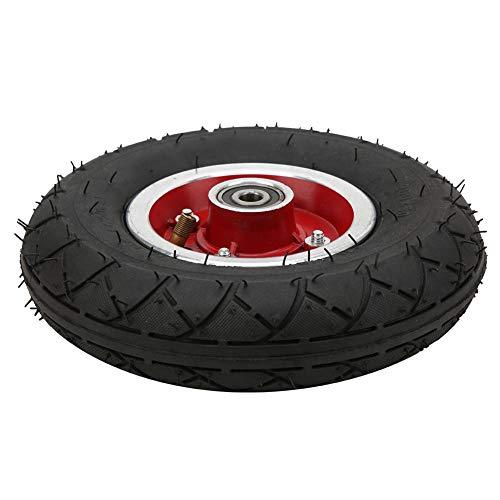 Keenso Neumático Delantero del neumático de la Vespa eléctrica, neumáticos Delanteros del neumático Universal de 8 Pulgadas 200x50 para los Scooters eléctricos con el cojinete del Eje