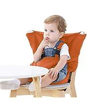 Vine Lättsits bärbar resa barnstol   justerbar, säkerhet, tvättbar   småbarn barnstol sittskydd   bekväm tyg resa barnstol passar i din handväska