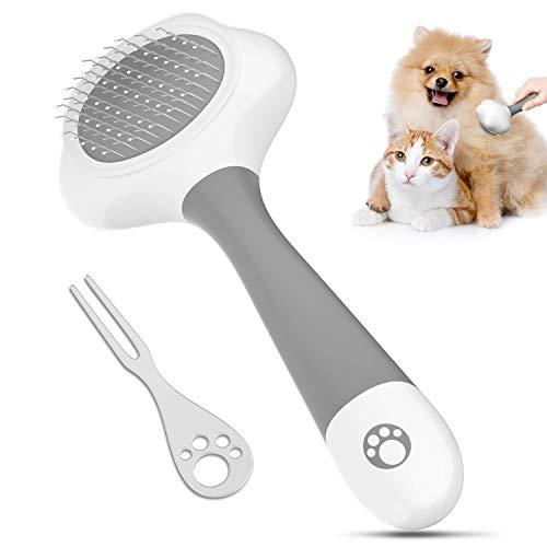 LAIKA Katzenbürste Hundebürste Kamm für laaghaarige oder kurzhaarige Hunde, Katzen und Kleintiere...