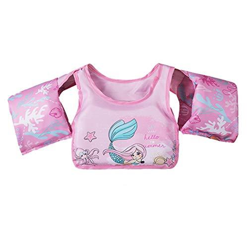Chaleco salvavidas para niños, chaleco de natación para niños con arnés de hombro para 30 a 50 libras para bebés y niños pequeños