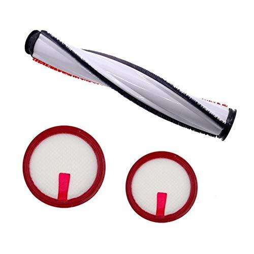 ZRNG 1 Brosse à Rouleau + 2 HEPA Filtre HEPA Filtre Outil de Nettoyage Kit Fit for Puppyoo T10 Aspirateur sans Fil