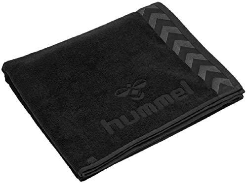 hummel Handtuch Old School Large Towel 208805 Black One Size