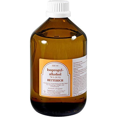 HETTERICH Isopropylalkohol 70%, 500 ml Lösung