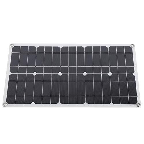 OKAT Panel Solar, Panel Solar de 24 W, Cargador monocristalino, para automóvil, Viaje en camión