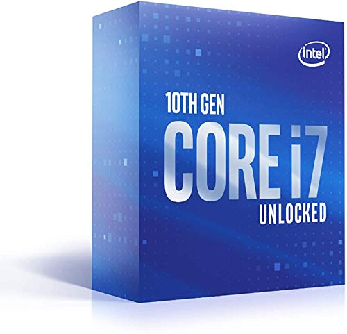 Intel Core i7-10700K (base 3.80 GHz, attacco LGA1200, 125 Watt) Box