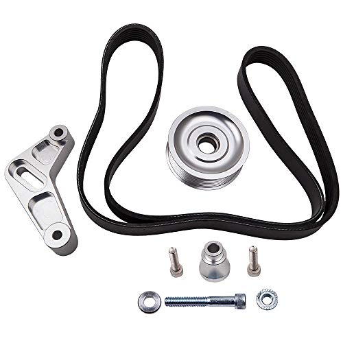 Adjustable EP3 Pulley Kit for Honda Acura K20 with Belt