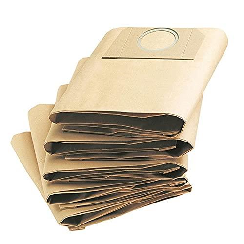 HNTYY 1 PC 1 Bolsas de Filtro de Polvo Ajuste para Karcher WD3200 / WD3300 / A2204 / A2656, Piezas de aspiradora Que se Ajustan a Rowenta RB88 / RU100 / RU101 Piezas de aspiradora (Color : Brown)