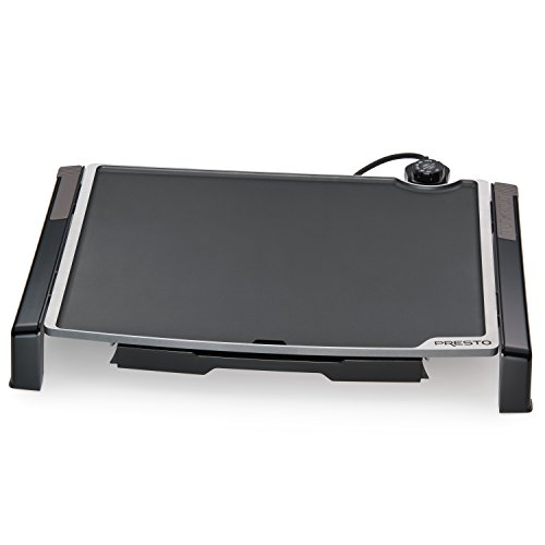 "Presto 07073 Electric Tilt-N-fold Griddle, 19"", Black inch"