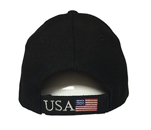 Donald Trump 2020 Hat – Make America Great Again 3D Embroidery American Flag Donald Trump MAGA Baseball Cap