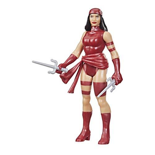 Hasbro Marvel Legends 9 cm retro 375 kolekcja Elektra akcja figurka zabawka