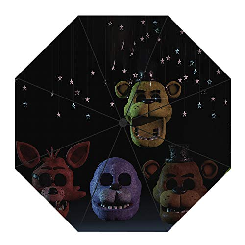 Dondonmin Five Nights at Freddy'S Multicolor Grande Hombres y Mujeres La Lluvia...