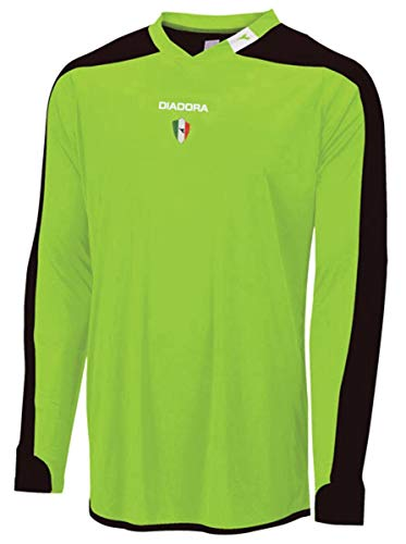 Diadora Enzo L/S Goalkeeper Jersey-Green